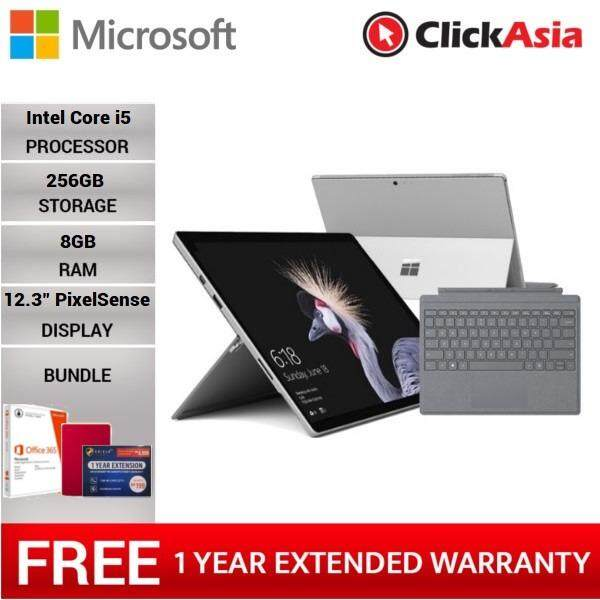 Microsoft Surface Pro Core i5/8G RAM - 256GB + Signature Type Cover + FREE Premium Bundle Malaysia