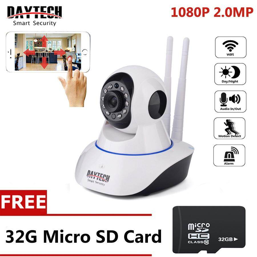 Daytech Ip Camera Cctv 1080p Hd Yoosee Ip Camera Home Security Wireless Wifi Camera Network Pan&tilt Two Way Audio Camera Night Vision With Free Card(dt-C101a-1080p) By Daytech Official Store.