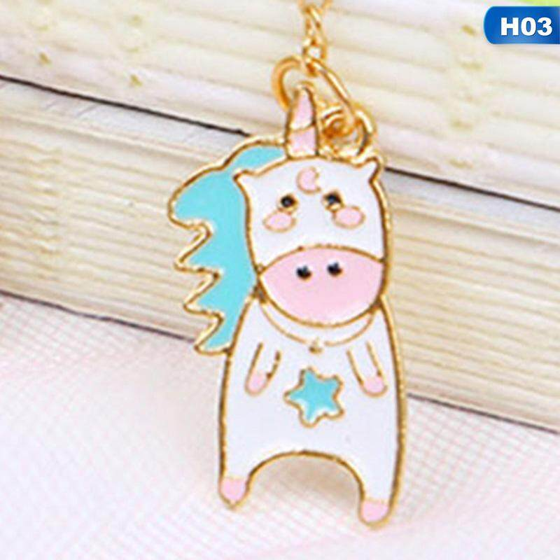 Linfang Student Generic Lovely Unicorn Pendant Long Boutique Bookmark By Linfang Store.