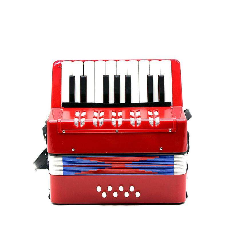 Star Mall 17-Key 8 Bass Mini Small Accordion Educational Musical Instrument Rhythm Band Toy for Kids Children Malaysia