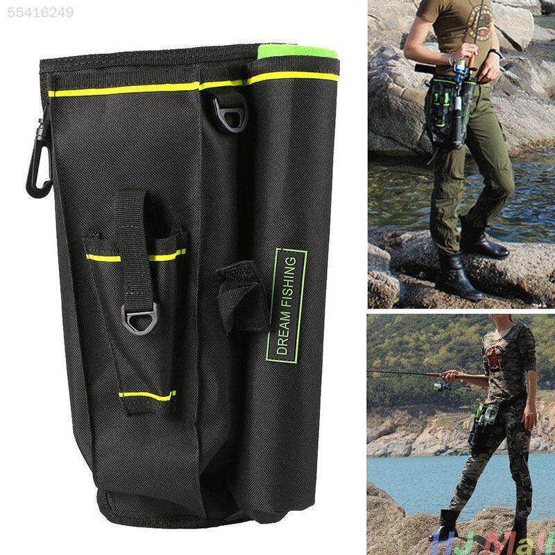 Fishing Tackle Lure Rod Storage Bag Multi-Purpose Tactical Thigh Waist Hip-Intl By Lands.