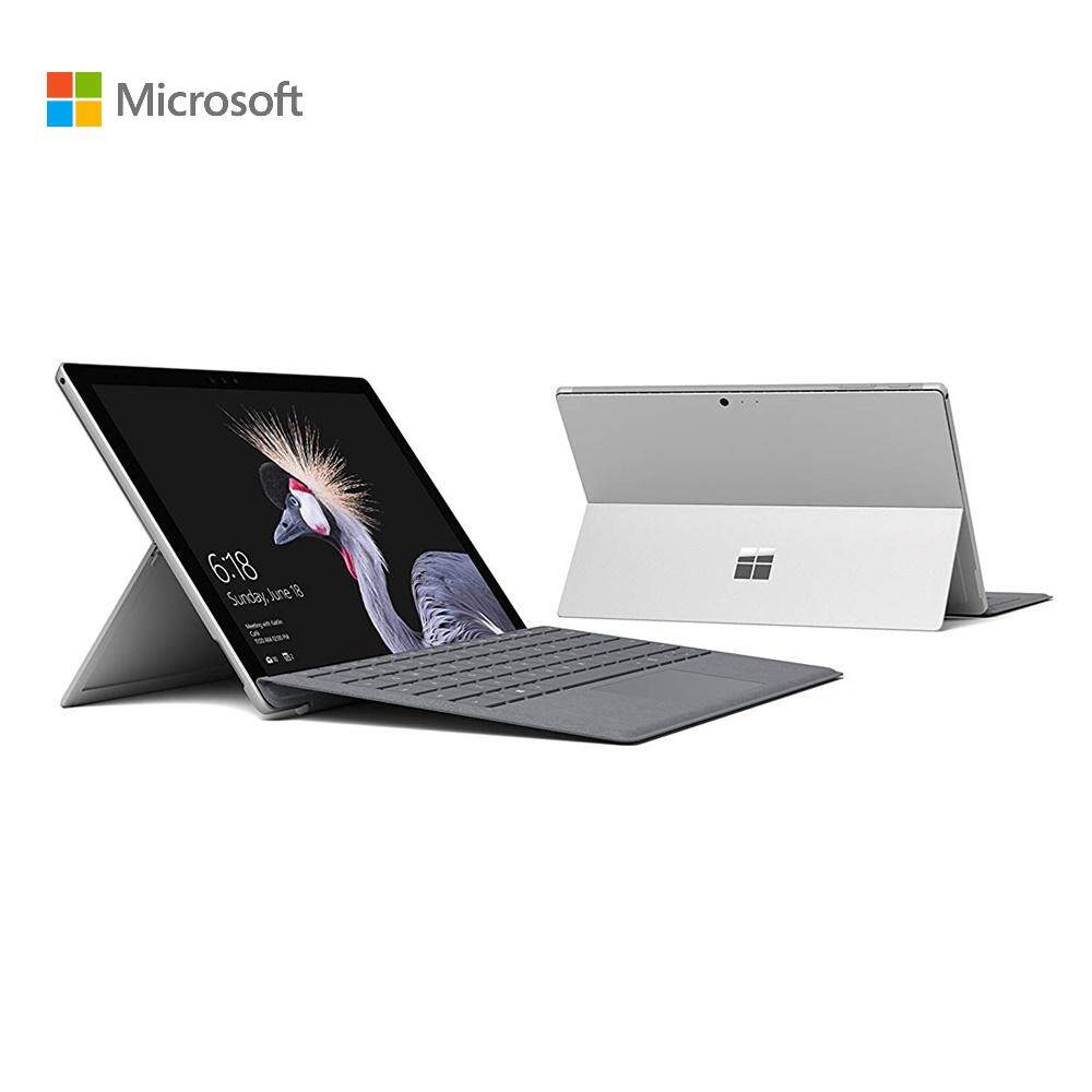 Microsoft New Surface Pro i5 128GB SSD 8GB RAM Bundle with Type Cover (Platinum Silver) + Office 365 Personal Malaysia