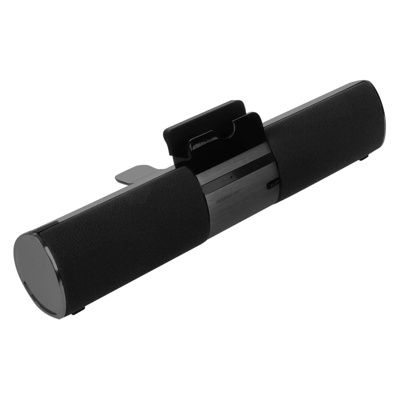 Free Shipping IKANOO Black Plastic F99 Terminator Bluetooth 4.0 3W * 2 Card Speaker Size 27x4.3x6.9CM Malaysia