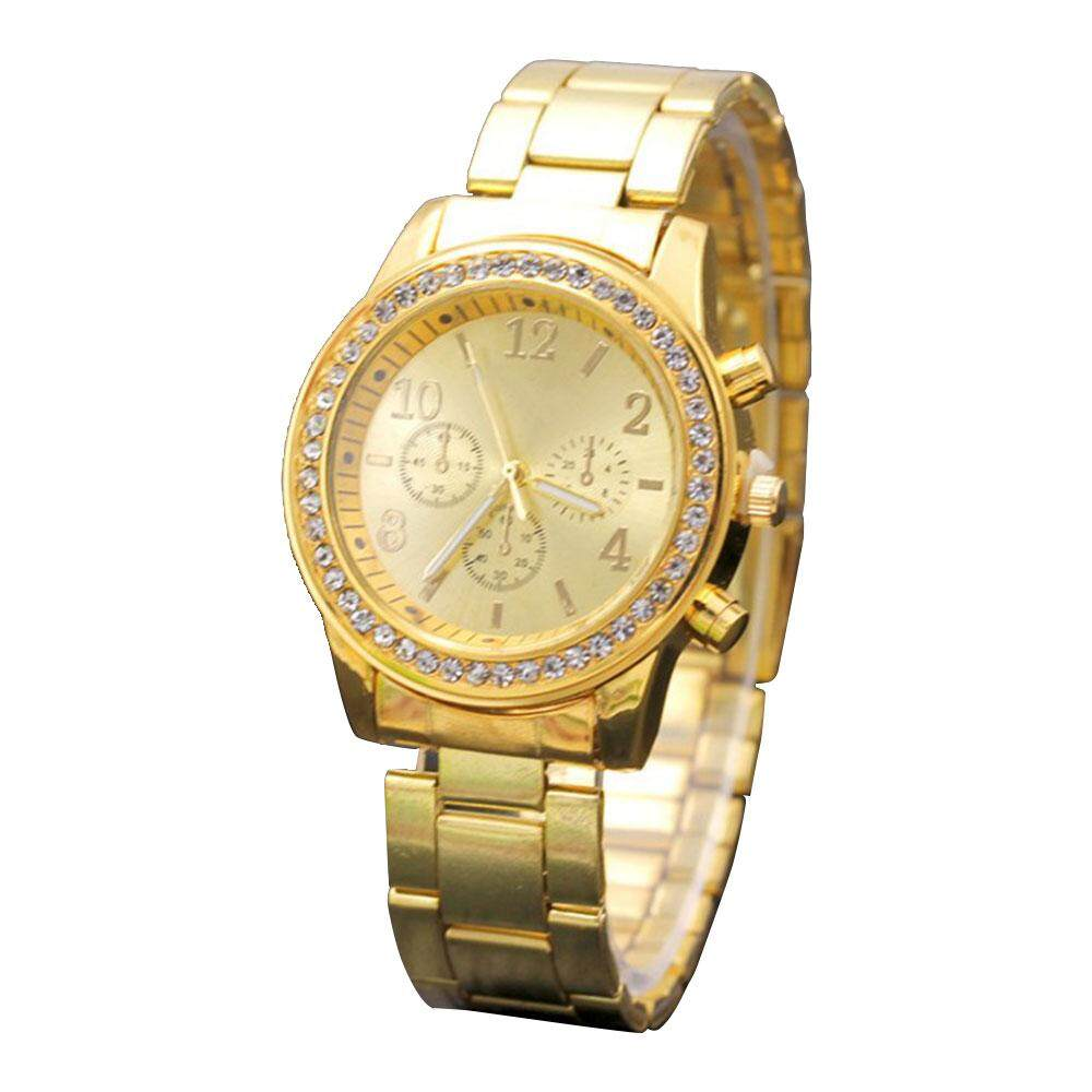 ACWomen Fashion Roman Numerals Alloy Band Analog Quartz Wrist Watch New Malaysia