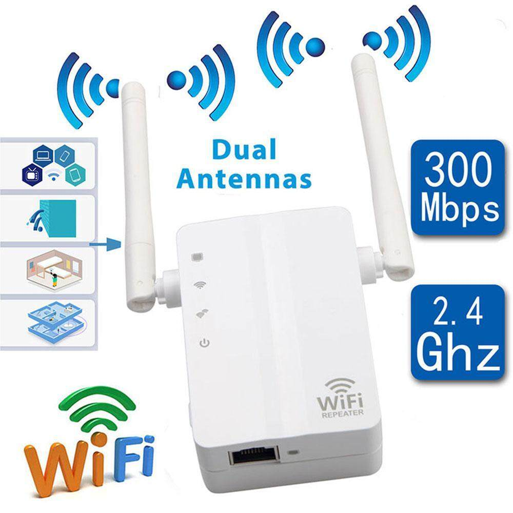 300Mbps Wireless-N Range Extender Network Router WiFi Repeater Signal Booster US