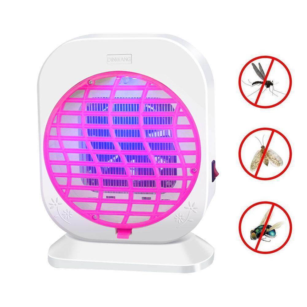 [Free Shipping] Inhalation type mosquito killer household electric shock mosquito killer radiation-free fly photocatalyst led mosquito repellent(U.S. regulations)