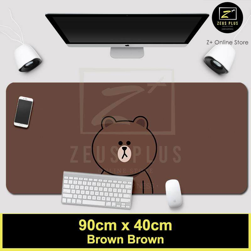 Z PLUS Line Cartoon Large Gaming Thickened Desktop Laptop Keyboard Mouse Pad (BR BR) Malaysia