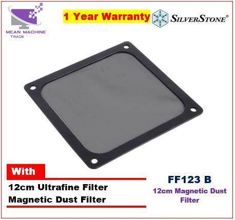 #Silverstone 12cm 14cm Ultra-Fine Magnetic Dust Filter# Malaysia