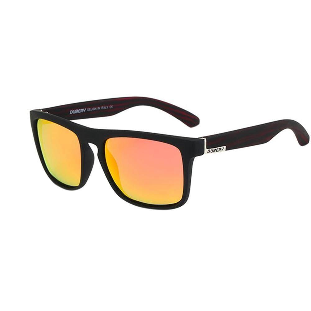 Men &Woman Sunglasses Square Sunglasses Bright Color Retro Big Frame - Gold Frame Double Gray Sheet