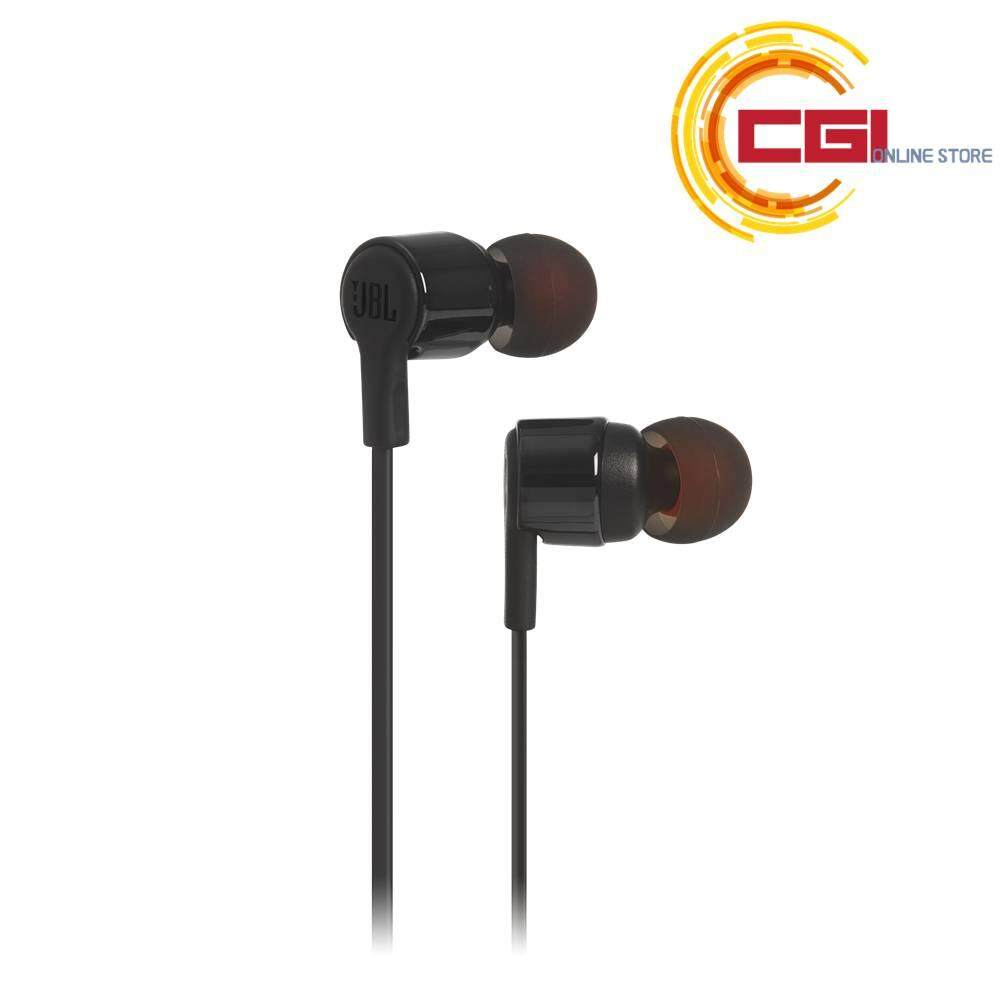 JBL T210 Pure Bass In-Ear Headphone - Black