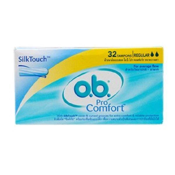 O.b. Procomfort Regular Tampons (32s) By Vitamart Official Store.