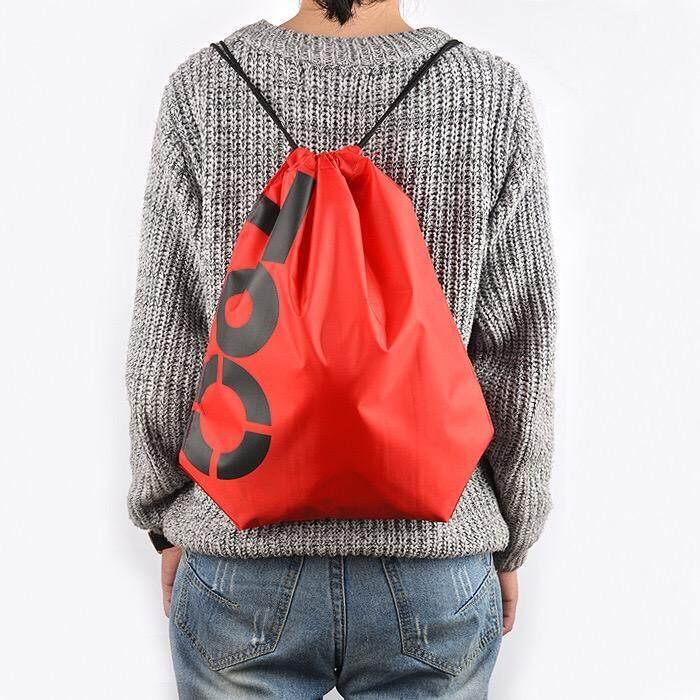 Sports Drawstring Bag Oxford Polyester Red By Pok Pa Shop.