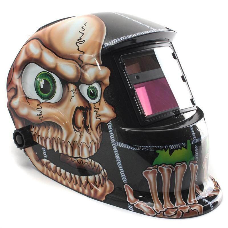 Automatic solar welding helmet welding solar welding mask skull