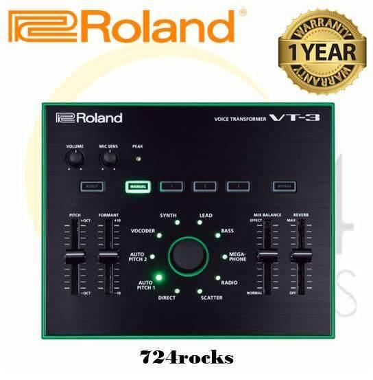 Roland Vt-3 Voice Transformer Vocoder / Vt3 By 724 Rocks.