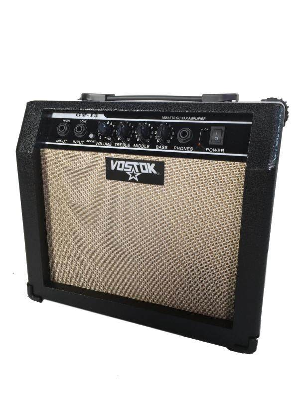 Vostok 15w Electric Guitar Practice Amplfier, suitable for beginner, affordable budget Malaysia