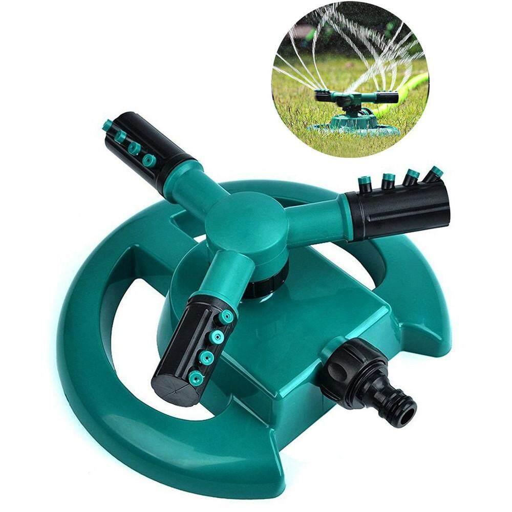 Hotilystore Lawn Sprinkler Garden Sprinkler Head Automatic Water Sprinklers 360°Rotation
