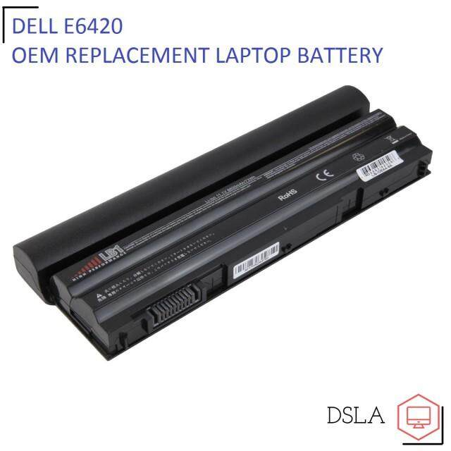 DELL Latitude E6440 E5420 E5520 E6520 E6420 Laptop Battery Malaysia