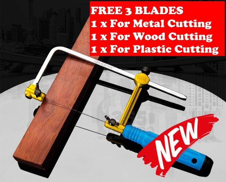 New Upgrade Coping Saw Adjustable Frame Saw Bow For Metal,wood,plastic Cutting By My Qq Shop.
