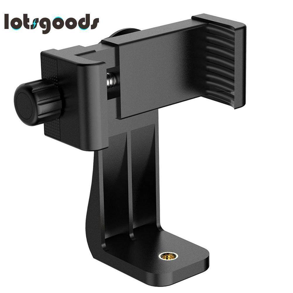Tripod Mount Phone Clip Vertical Bracket 360 Degree Rotating Tripod Adapter