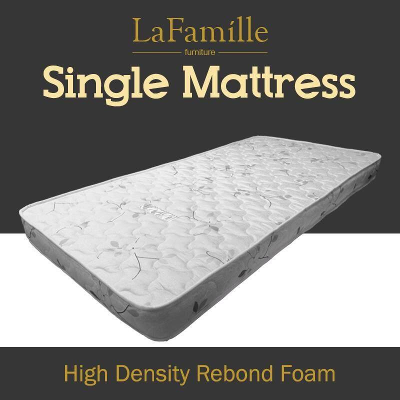 Lafamille Hdrf Sm01 Student High Density Rebond Foam Mattress Single Size 4 Thickness