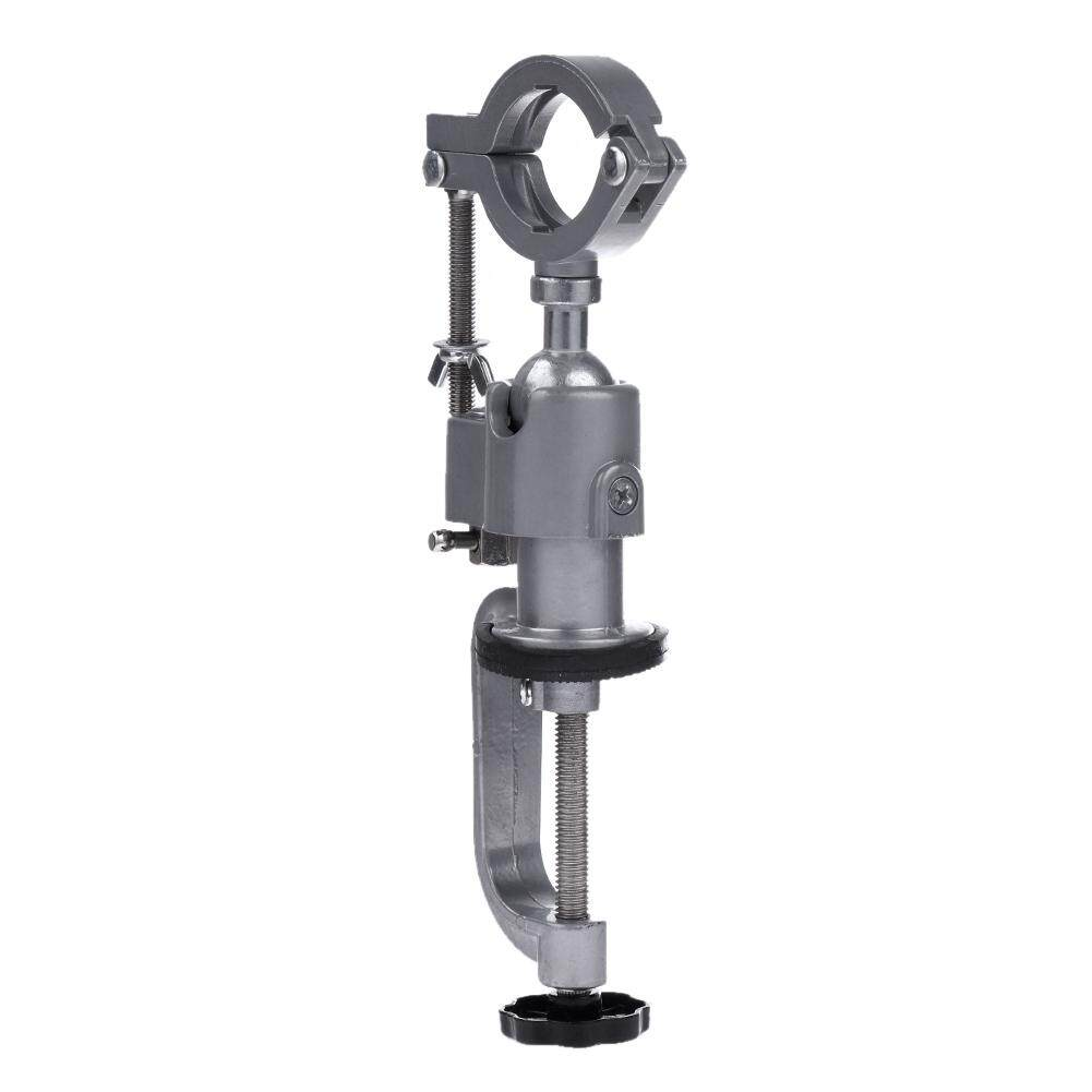 360 Rotating Clamp-on Grinder Holder Bench Vise for Electric Drill Stand