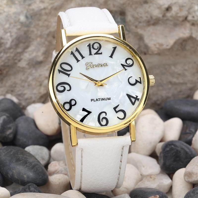 RADOCIE Women Retro Digital Dial Leather Band Quartz Analog Wrist Watch Watches WH Malaysia