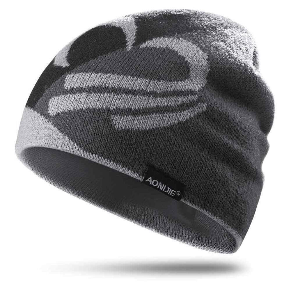 b6379157bca15 Betes AONIJIE M24 Soft Unisex Winter Warm Sports Knit Beanie Hat Cap For  Running Jogging Marathon