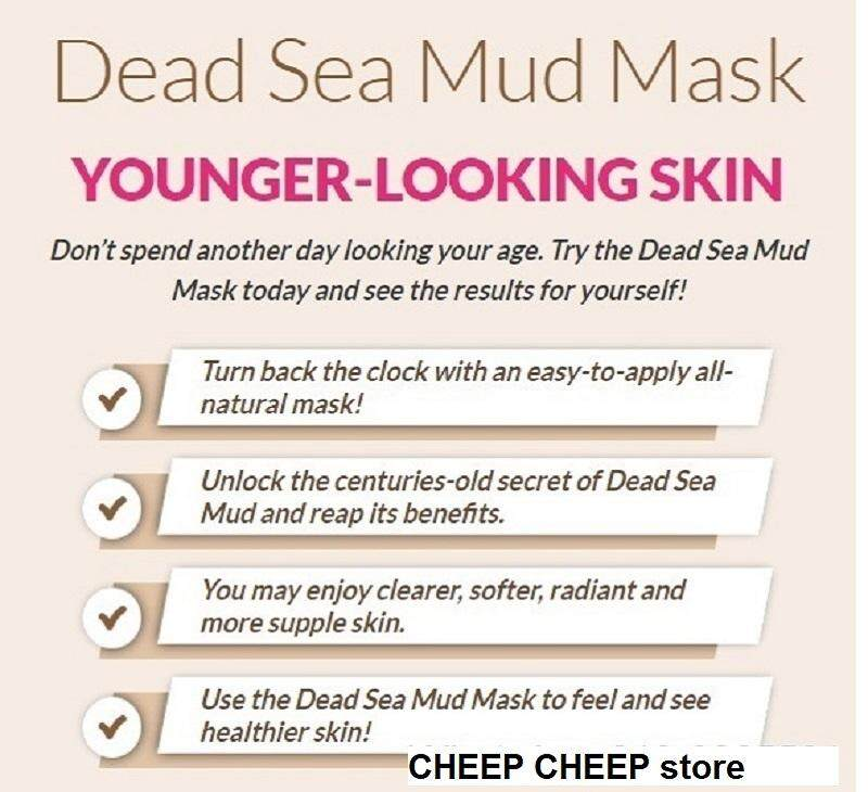 Dr Rashel دبي Dead Sea Mud with Collagen Peel Off Mask for Deep Cleansing  Detox Purifying Oil Control & Whitening 120g