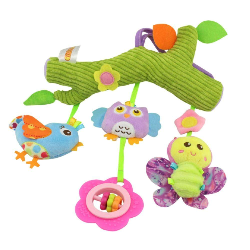 Tideshop Baby Plush Cartoon Animal Toy For Crib Hanging Baby Carriage Hanging Soft By Tideshop.