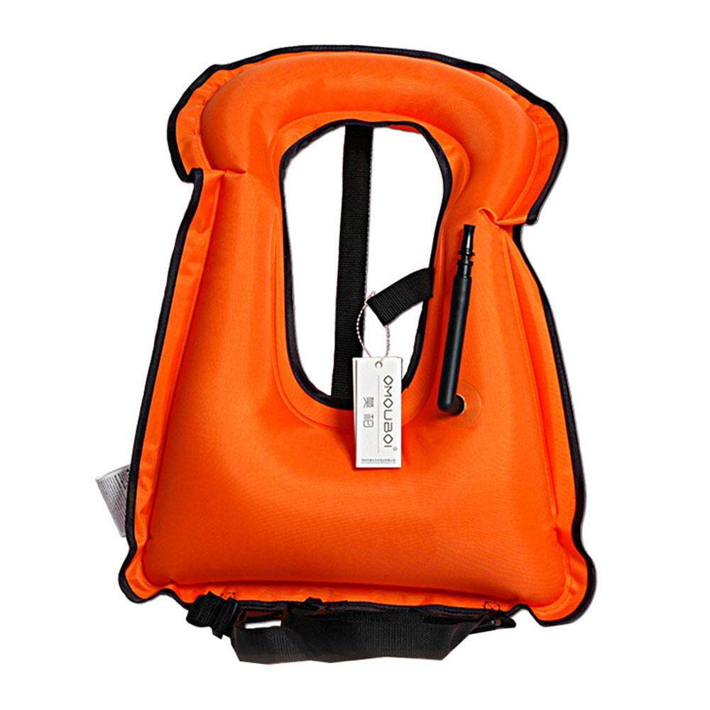 Portable Unisex Adults,kids Inflatable Vest Snorkeling Swimming Life Safety By I-Cloud.