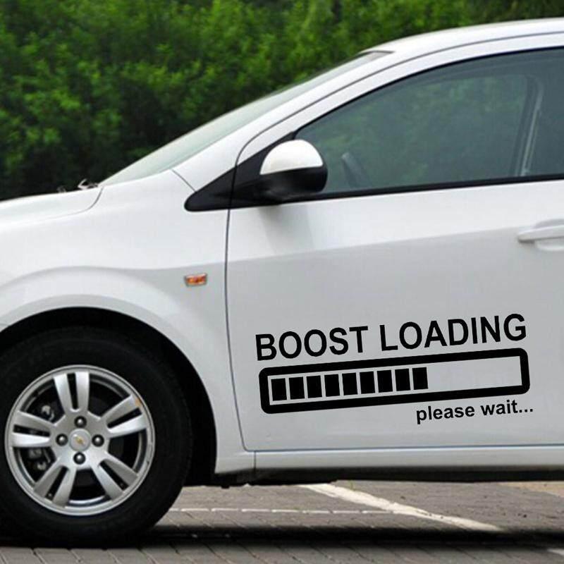 BOOST LOADING Please Wait Funny Car Sticker Vinyl Decal for JDM Turbo Diesel