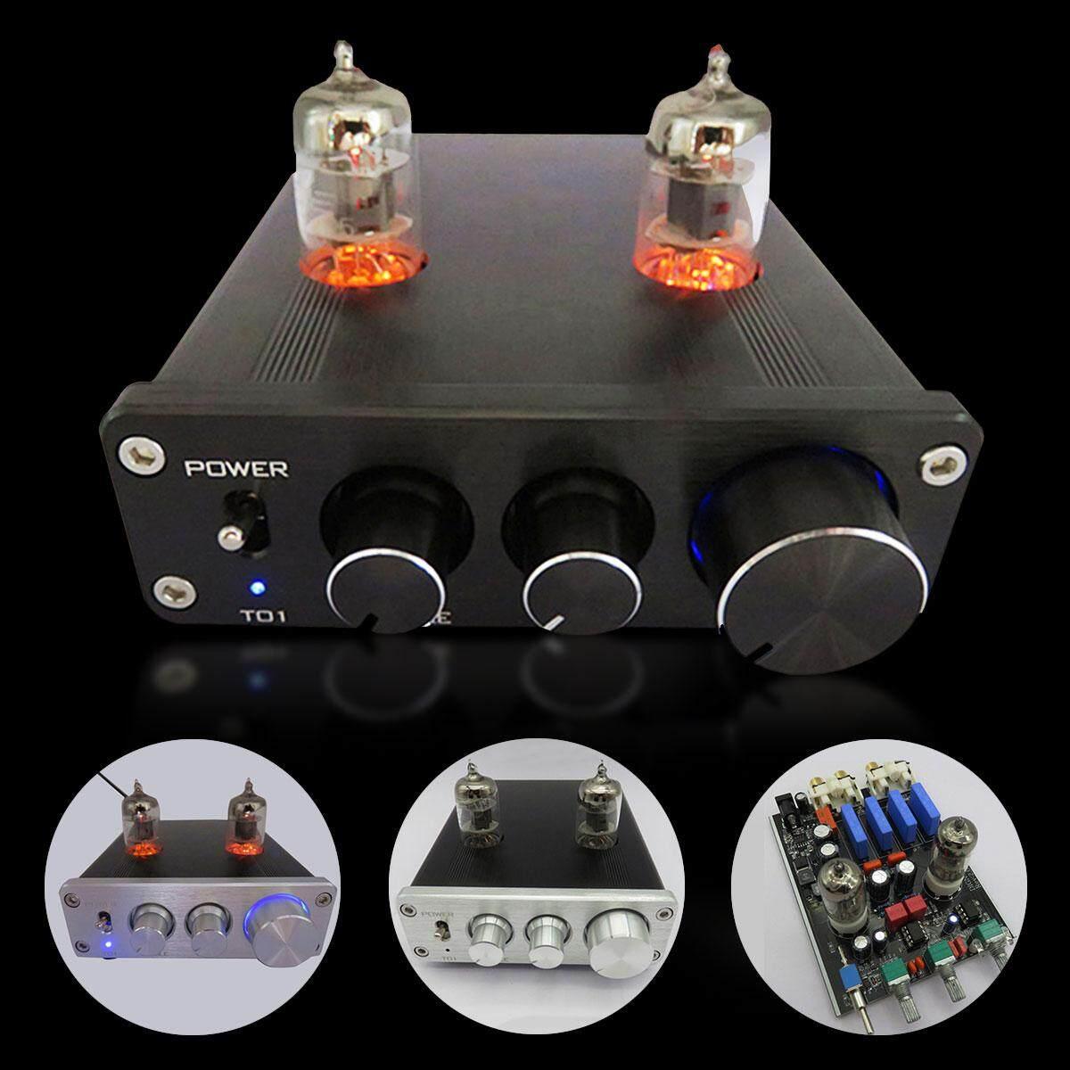DC12V Audio Mini 6J1 Valve and Vacuum Tube Pre-Amplifier Stereo HiFi Buffer  Preamp