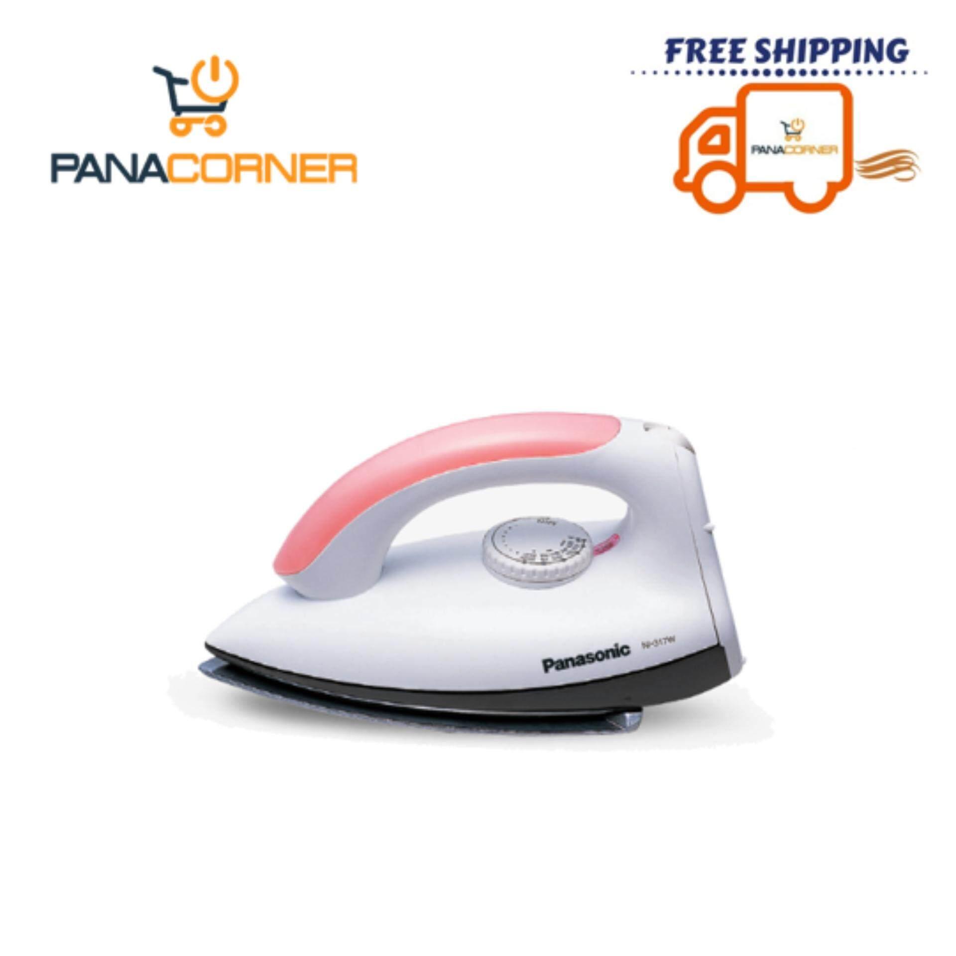 Panasonic POLISHED DRY IRON NI 317W Light Pink