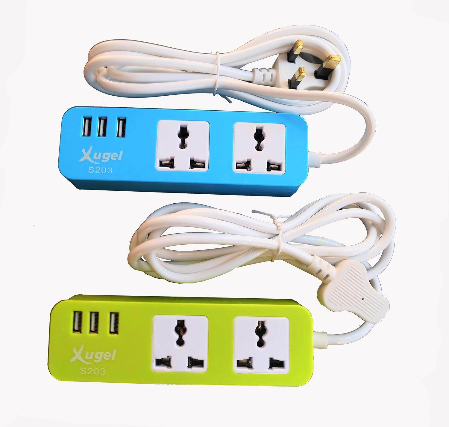 Home Cables Leads Adapters Buy At Wiring An Mk Socket Xugel Usb Power Box 2 Meter Cable Extension 3 Charger Port And
