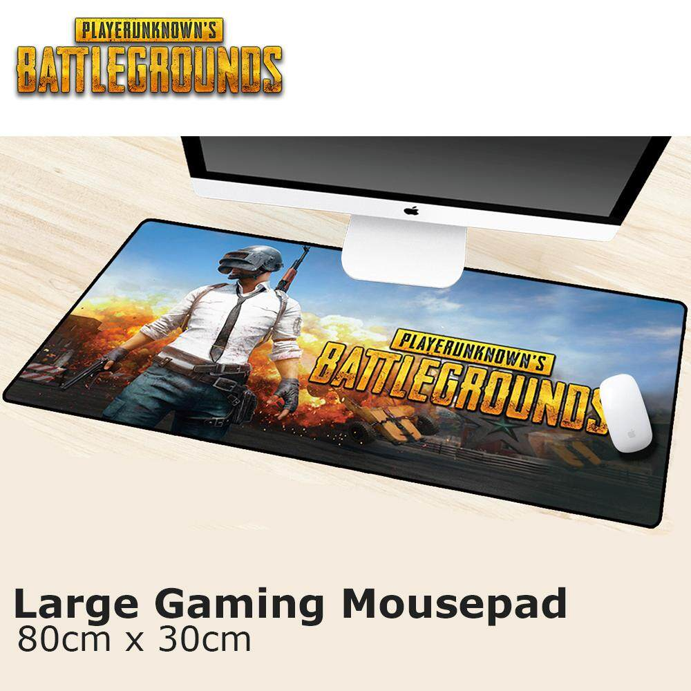 Large Gaming Mousepad (PUBG Series) 80cm x 30cm Malaysia