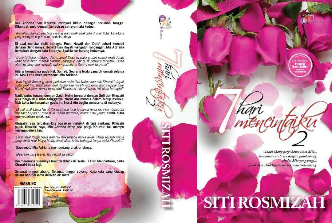 7 Hari Mencintaiku 2 Novel Siti Rosmizah Malaysia