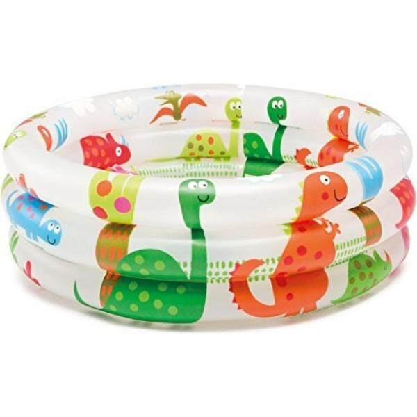 Intex Dinosaur 3 Ring Baby Pool (24 In X 8.5 In) By Buyhole.