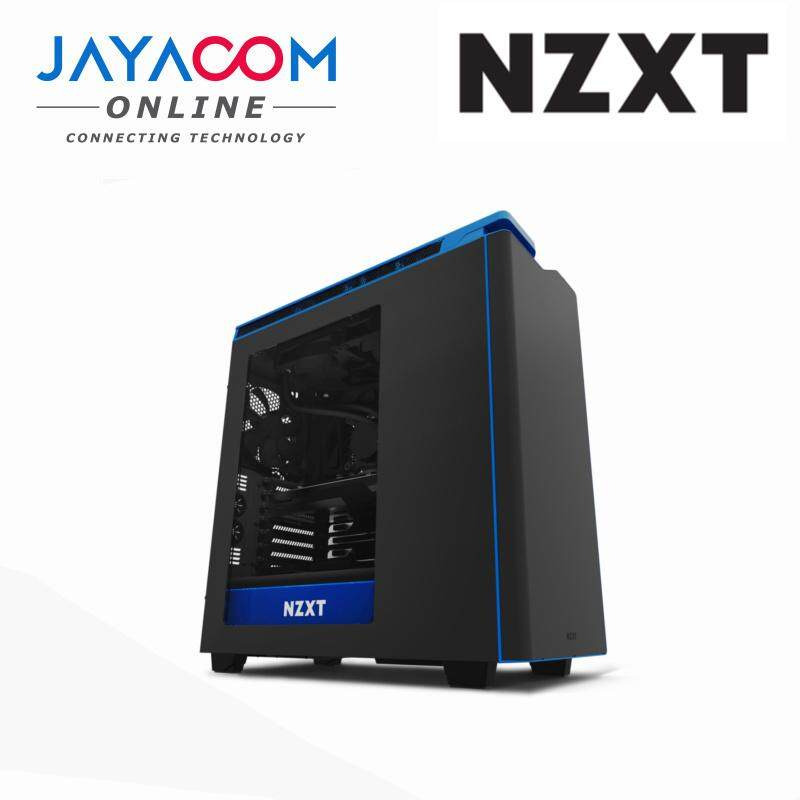 NZXT H440 EDITION ATX CASING BLACK BLUE Malaysia
