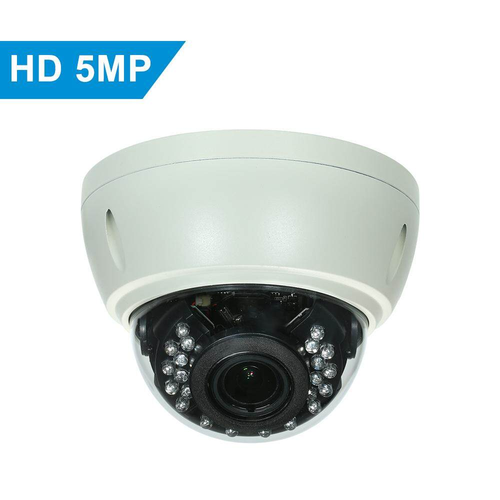 5MP Camera HD Dome POE IP Camera Explosion-proof 2 8-12mm 4X Optical Manual  Zoom Internal Focusing Lens H 265/H 264 Optional 1/2 7