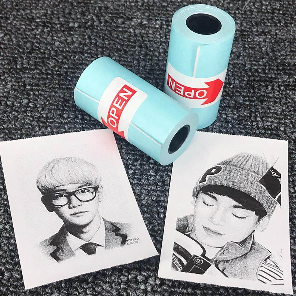 3pcs Paperang Note Printer Mini Portable Special Adhesive Thermal Sensitive Paper Stickers, Adhesive Backing Photo Paper Stickers 57*30mm By Woto.