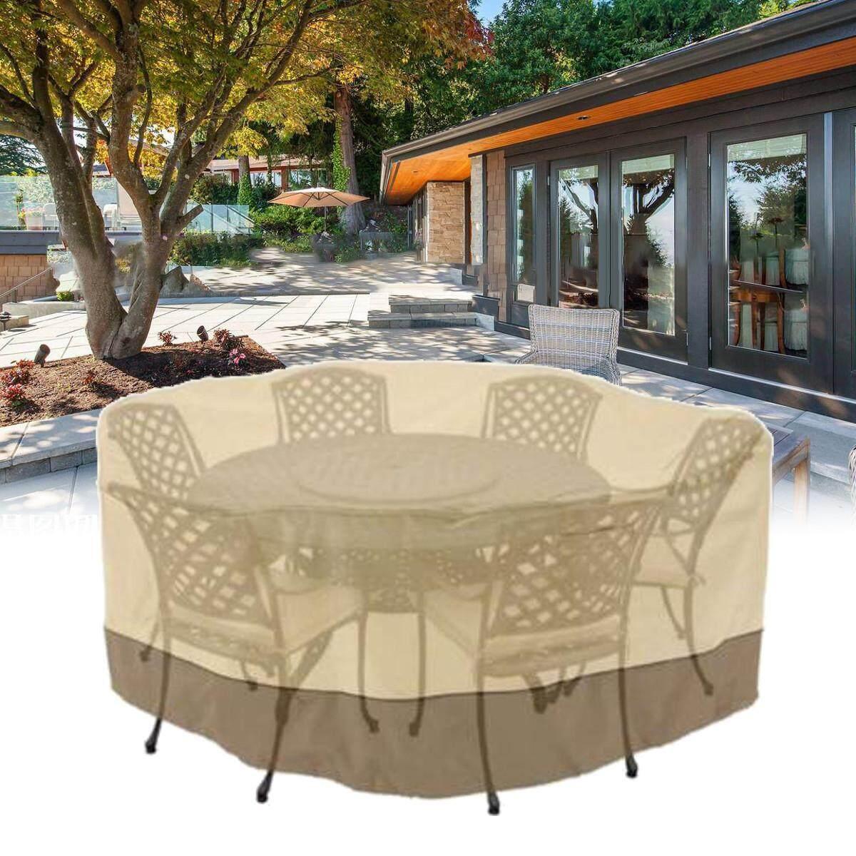 (photo)94 Veranda Patio Set Cover Table & Chair Outdoor Garden Furniture Round , Large