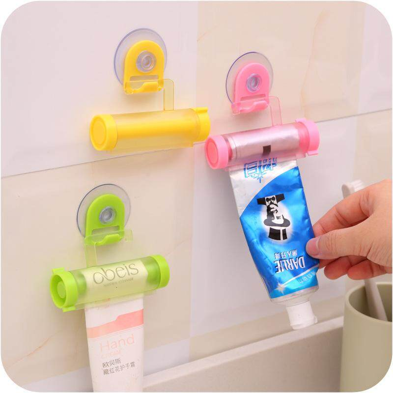 Bathroom Practical Rolling Tube Toothpaste Squeezer Useful Easy Dispenser Bathroom Toothpaste Holder Bathroom Gadgets By Rytain.