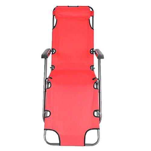 Chairs Case Of Reclining Lounge Patio Chairs Outdoor Yard Beach & Lcolors:red Sizes:70 Inch By Xhkjin.