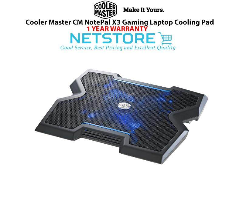 Cooler Master CM NotePal X3 Gaming Laptop Cooling Pad Malaysia