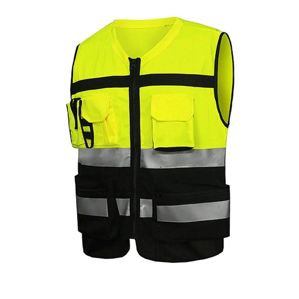 Riding Motorcycle Reflective Vest Motorbike Safety Suit Moto Warning High Visibility Jacket Waistcoat Uniform