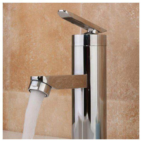 Washbasin faucet Chrome Waterfall faucet Sink fauce of Bathroom Bathroom Tap