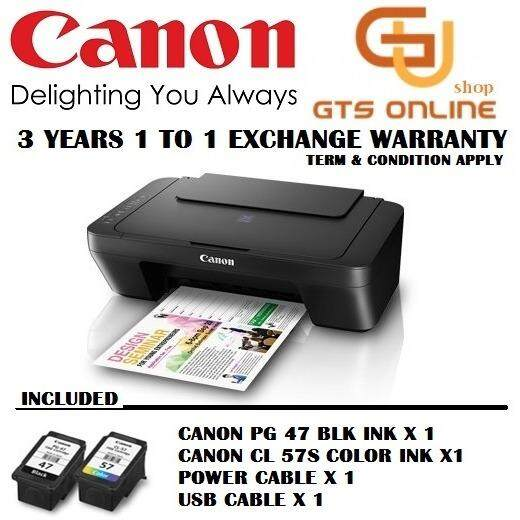 Canon Pixma E410 Color Inkjet 3 In 1 Printer By Good Tech.