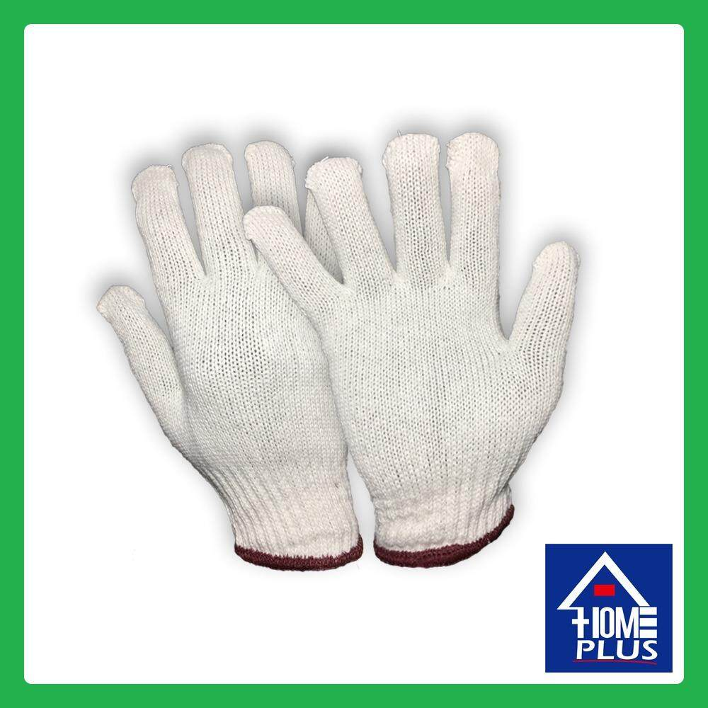 700g Standard Cotton Work Industrial Knitted Gardening Safety Protective Gloves