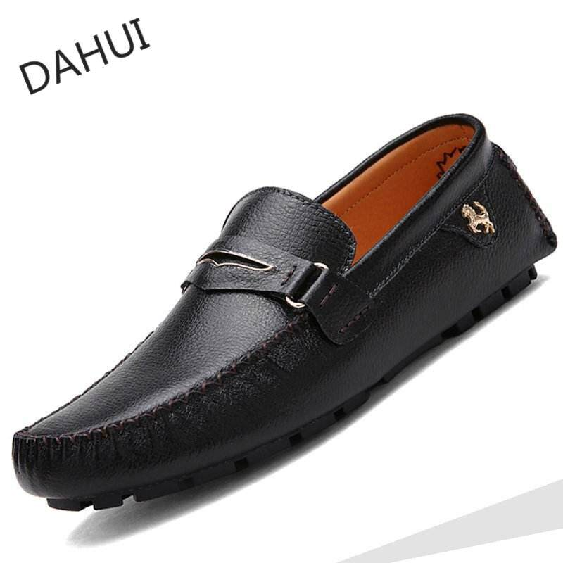 Men's Shoes Shoes Mens Leather Shoes Mens Leather Summer 2018 New Mens Business Dress Korean Style Casual Black Leather Shoes Special Buy