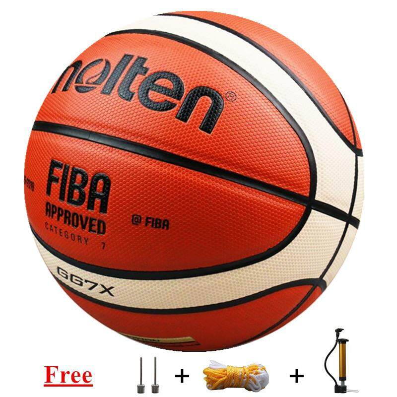 Basketball Bola Basket Molten Basketball Gg7x Size7 Pu Leather With Free Inflator By Global Top Selling.